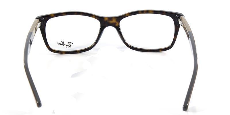29c7fc5663b63 Óculos de Grau Ray Ban Highstreet RB5228 Tartaruga Marrom - Ray-ban R   279