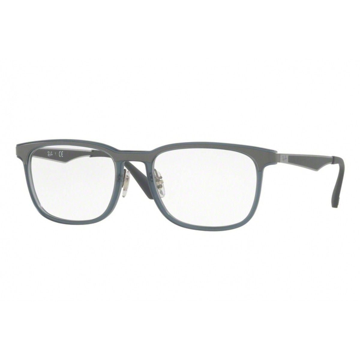 119bd5fabfa3c Óculos De Grau Ray Ban Masculino RB7163 5679 Tam.55 - Ray ban original R