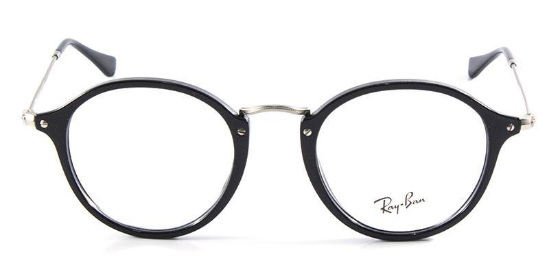 8f8b3e116c255 Óculos de Grau Ray Ban Round Fleck RB2447 Preto - Ray-ban - Óptica ...