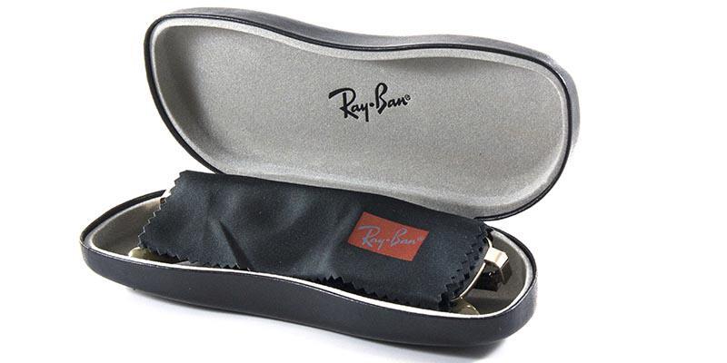 569bf80b1e8b1 Óculos de Grau Ray Ban Round Metal RX6378 2905 Marrom Lente Tam 49 - Ray-ban  R  339