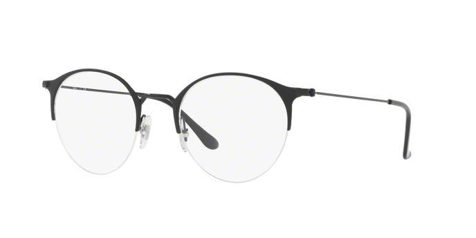 a464a11ee7630 Óculos de Grau Ray Ban Round RX3578 2904 Preto Fosco Lente Tam 50 - Ray-ban  R  329,99 à vista. Adicionar à sacola