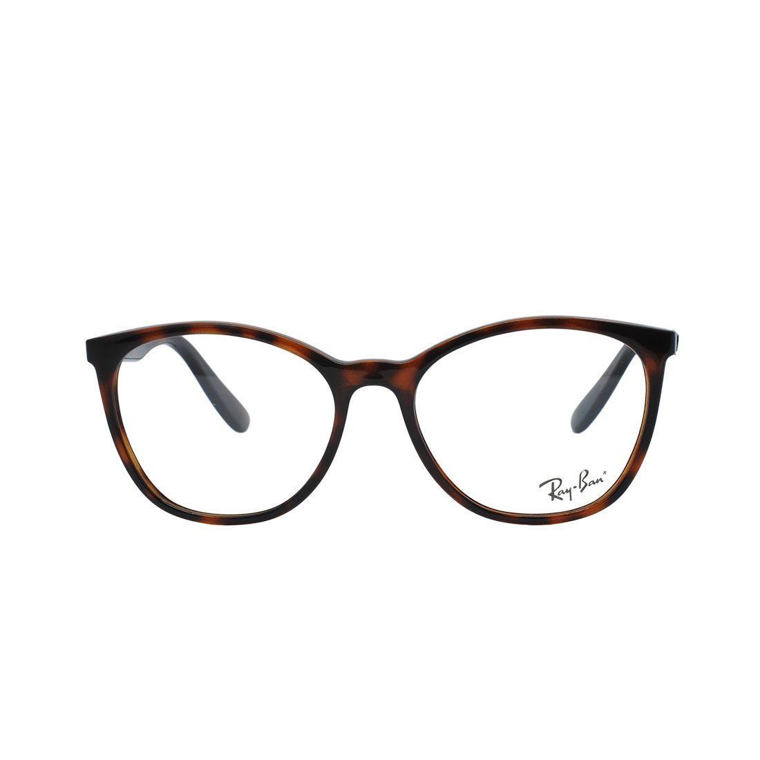 c568d8348d Óculos de Grau Ray Ban Unissex RB7161L 5894 - Acetato Tartaruga Marrom R$  381,00 à vista. Adicionar à sacola