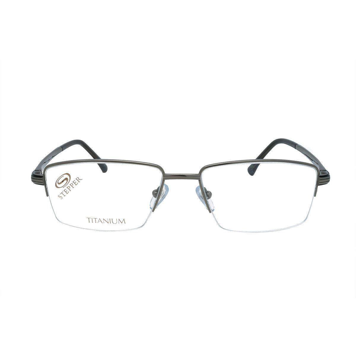 92e8e23a4 Óculos de Grau Stepper Unissex Titanium SI-60025 F029 - Grafite R$ 846,00 à  vista. Adicionar à sacola
