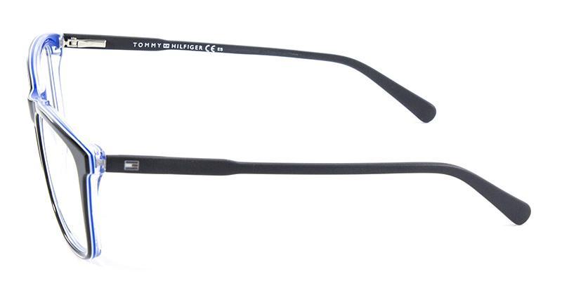 820f2a9c7de56 Óculos de Grau Tommy Hilfiger TH1317 Preto - Óptica - Magazine Luiza