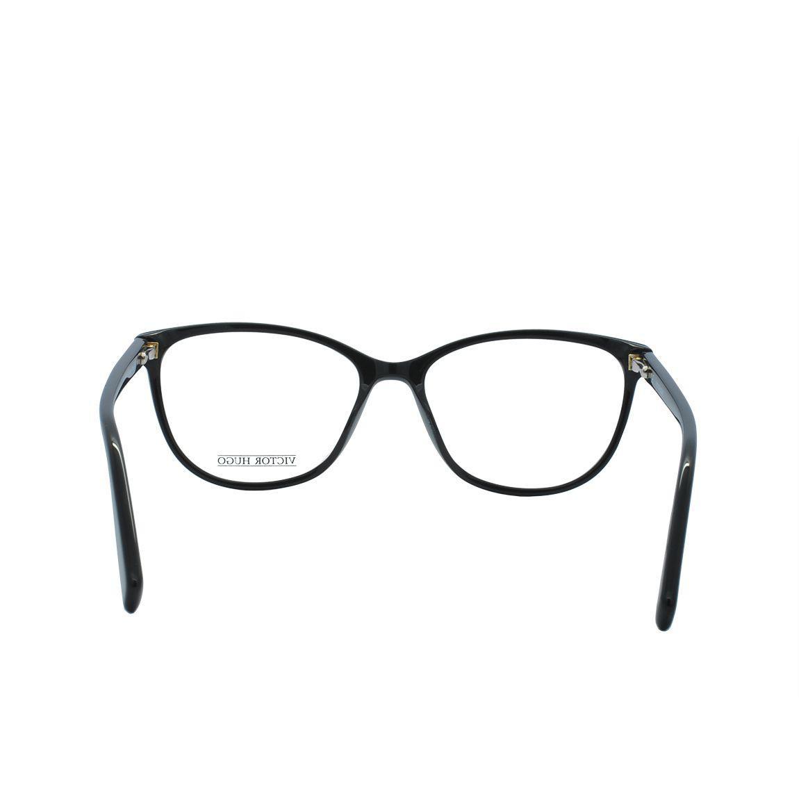 7ea8f79f39b55 Óculos de Grau Victor Hugo Feminino VH1769 0700 - Acetato Preto R  748