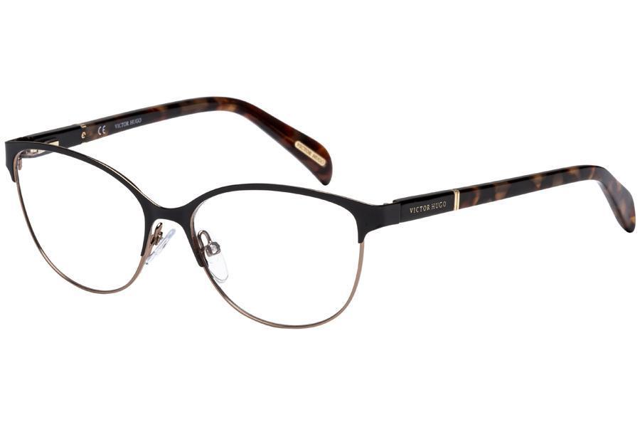 8144bbadbf73e Óculos de Grau Victor Hugo VH1250 08M6 53 Preto Tartaruga - Óptica ...