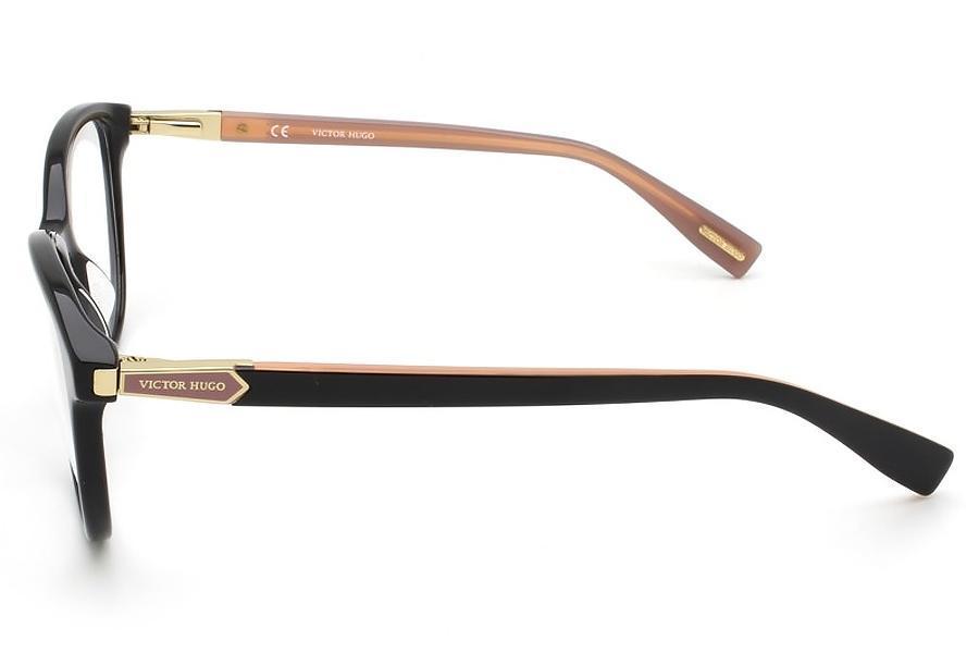 dca839f25 Óculos de Grau Victor Hugo VH1768 0700/52 Preto/Rose R$ 750,00 à vista.  Adicionar à sacola