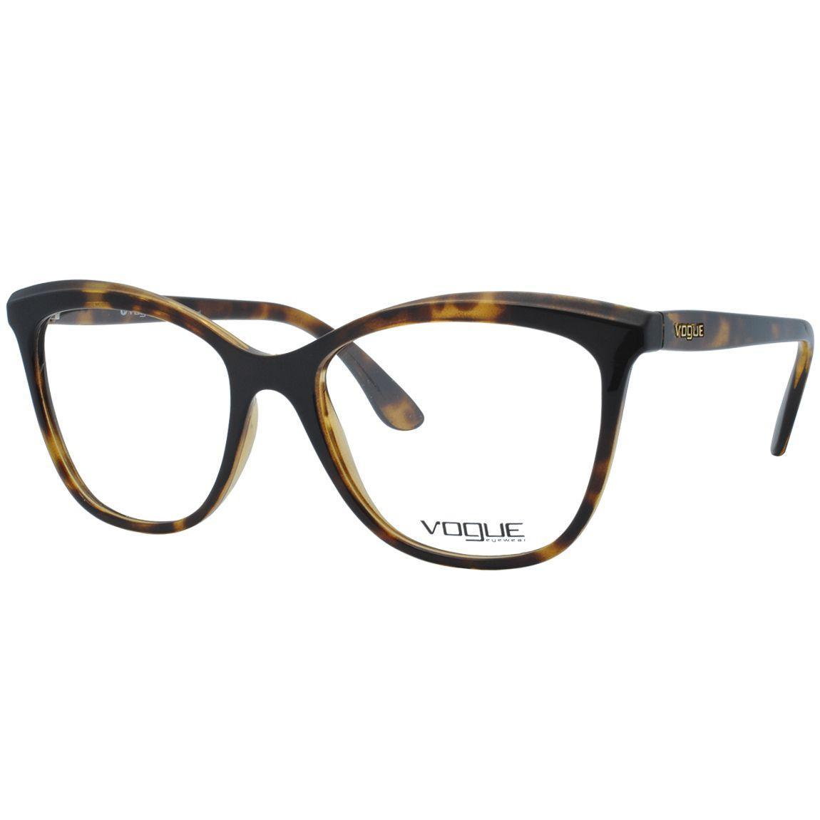 Óculos de Grau Vogue Feminino VO5188L 2590 - Acetato Tartaruga Marrom R   381,00 à vista. Adicionar à sacola 3d0a03eab4