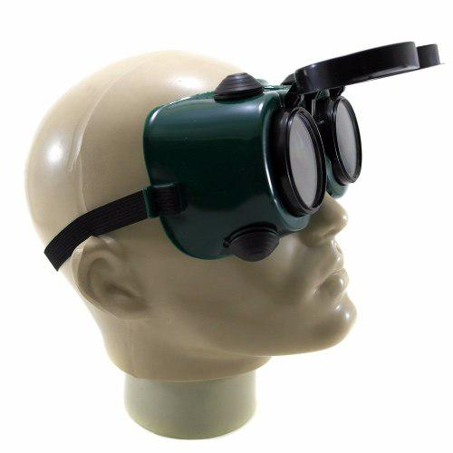 aeaebf9baf4ee Óculos De Seg. P  Solda Visor Articulado Cg 250 Carbografite R  19