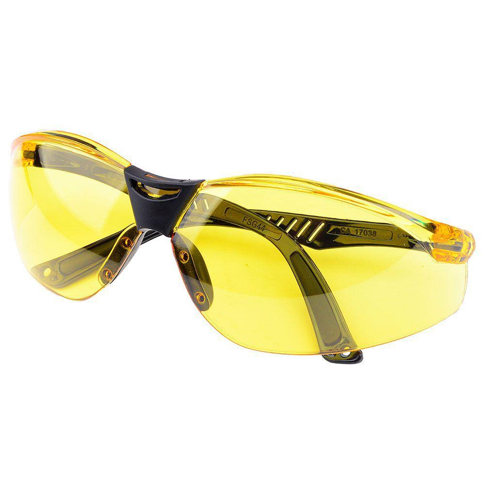 f2bc9aa3ae602 Óculos de Segurança Cayman Ambar Carbografite R  18,50 à vista. Adicionar à  sacola