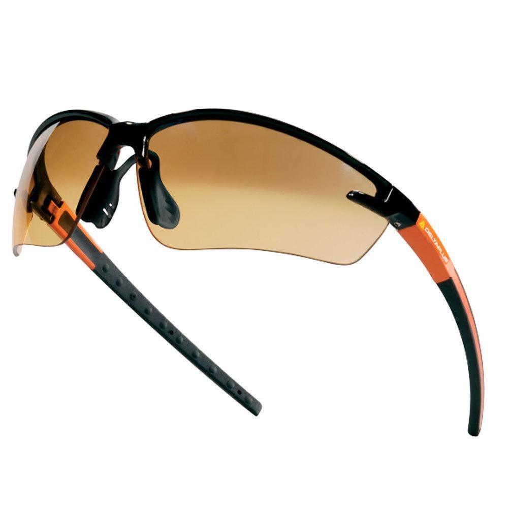 d659f3ecee2b2 Óculos de segurança laranja - FUJI2 Gradient - Delta plus R  49,90 à vista.  Adicionar à sacola