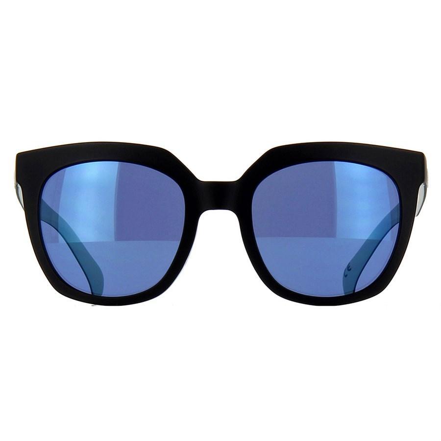 bfd9d163e Óculos de Sol Adidas Originals Preto e Branco com Lente Azul Espelhada -  Adidas Originals Produto não disponível