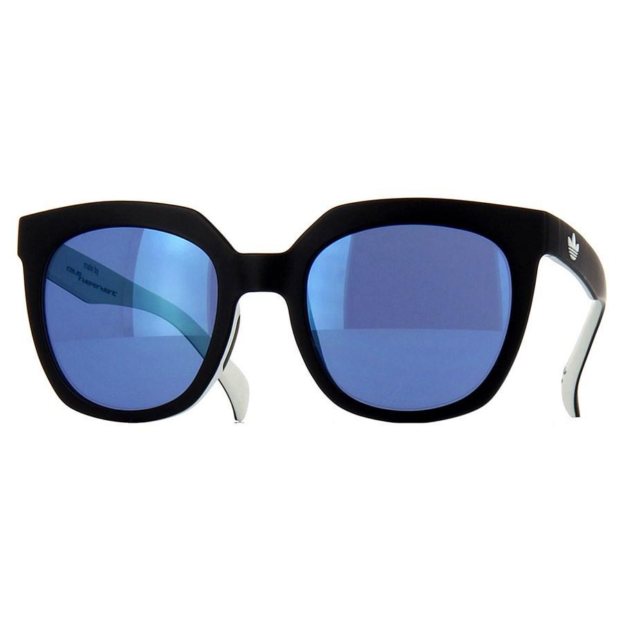 1a48ec23a Óculos de Sol Adidas Originals Preto e Branco com Lente Azul Espelhada -  Adidas Originals Produto não disponível
