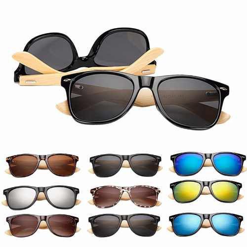 e1b05fa62 Óculos de Sol Armação de Madeira Bambu - Vinkin R$ 59,99 à vista. Adicionar  à sacola