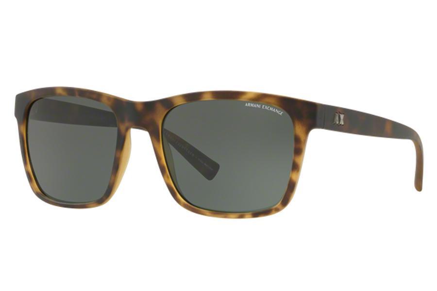 4a942b8cff047 Óculos de Sol Armani Exchange AX4063SL 802971 57 Havana Fosco R  330