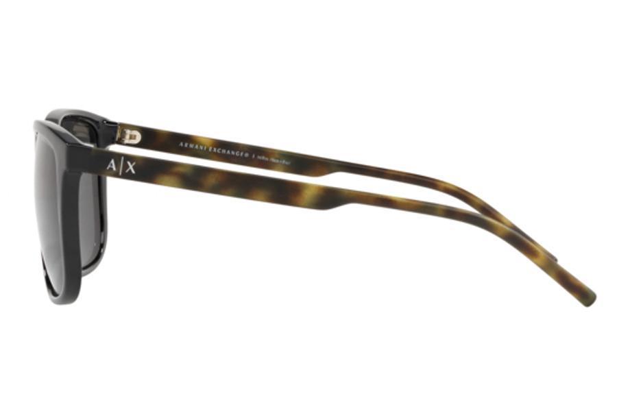 e9ffc62abf6ce Óculos de Sol Armani Exchange AX4070SL 815887 57 Preto Brilhante R  330