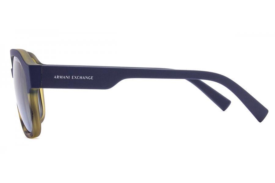b9ca386e6 Óculos de Sol Armani Exchange AX4074S 82468F/57 Havana Fosco/Azul Fosco R$  320,00 à vista. Adicionar à sacola