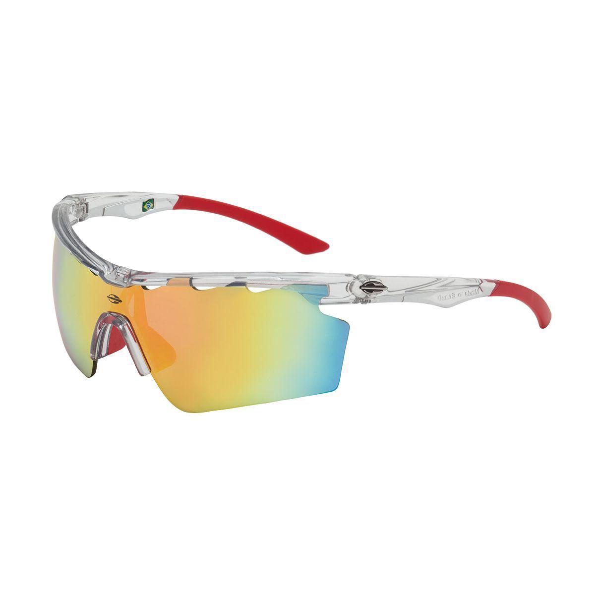 09ae21bbc8738 Óculos De Sol Athlon V Translucido E Vermelho Lente Rosa Mormaii R  299,00  à vista. Adicionar à sacola