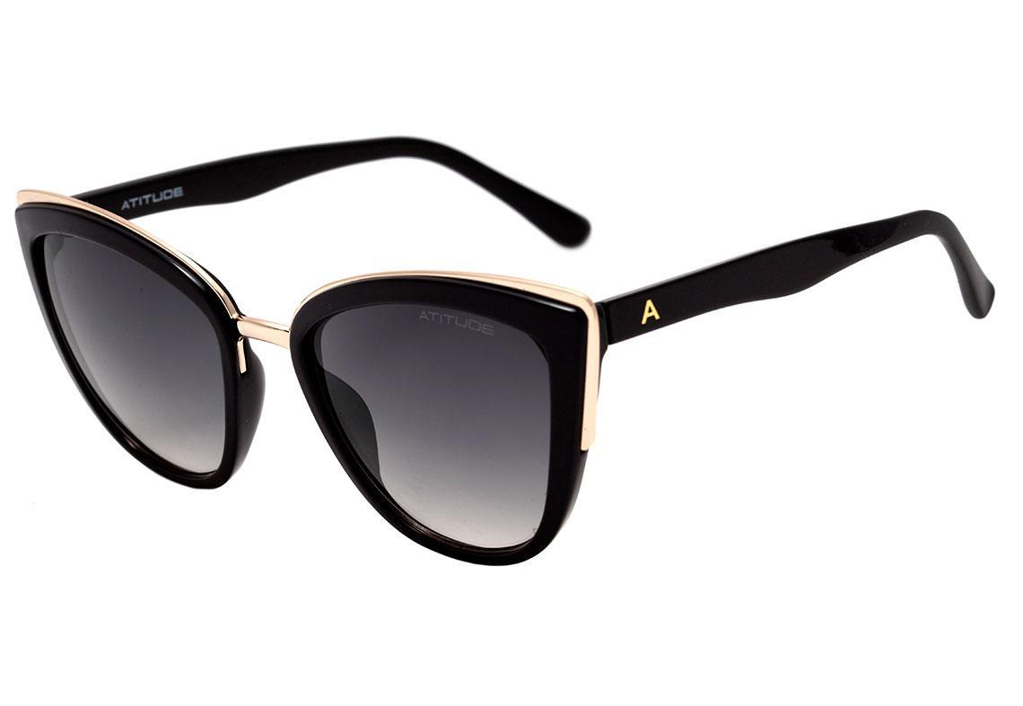 fe2331efb124c Óculos de Sol Atitude Feminino AT5347 A01 - Óculos de Sol - Magazine ...