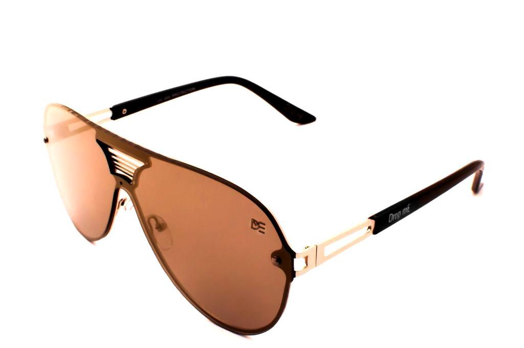 Oculos de sol aviador drop me lente unica espelhado dourado - Drop me  acessorios R  309,90 à vista. Adicionar à sacola ab991fc504