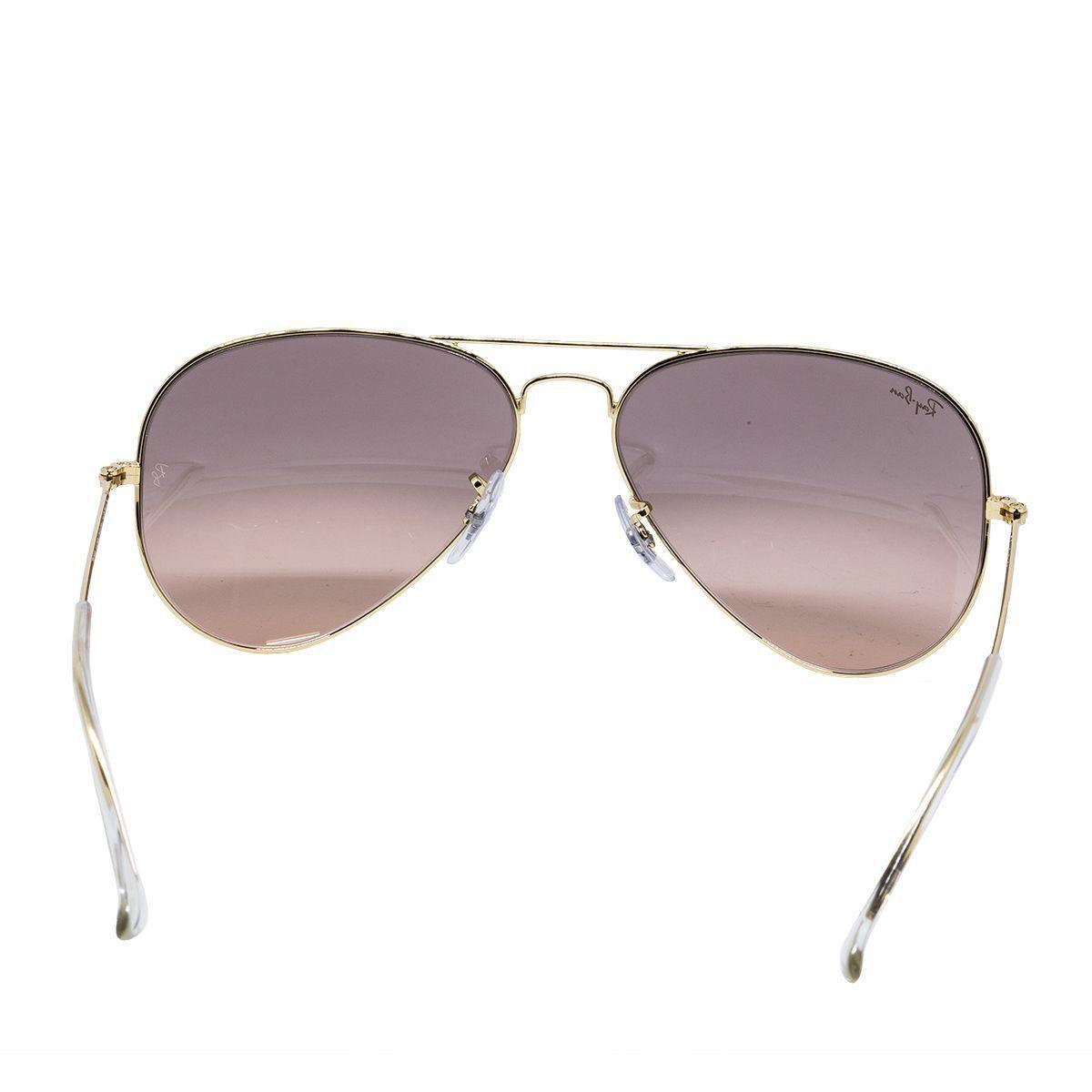 c43fcaa479596 Óculos de Sol Aviador Large Metal RB3025L - Metal Dourado, Lente Rosa - Ray  ban R  559,00 à vista. Adicionar à sacola