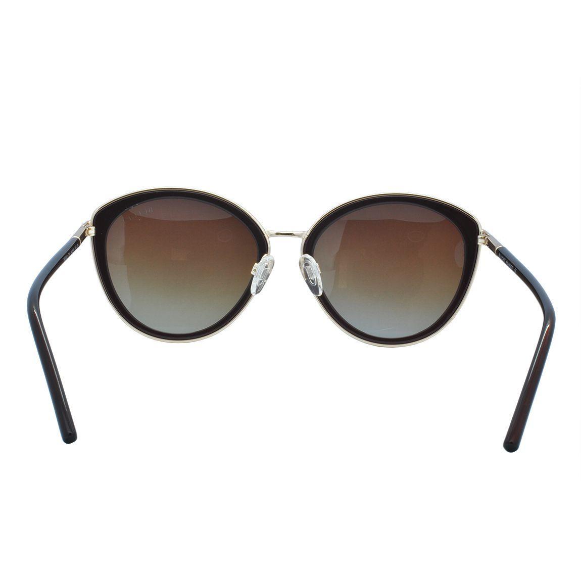 ae464404b3f5f Óculos de Sol Bulget Feminino Polarizada BG5142 T04 - Acetato Preto e Metal  Dourado R  268,00 à vista. Adicionar à sacola