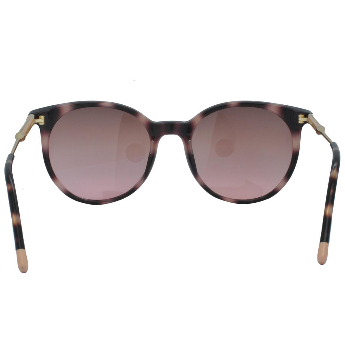7b5b4cd3f401a Óculos de Sol Calvin Klein Feminino CK3208S 669 - Acetato Tartaruga Marrom  e Lente Marrom Degradê R  691