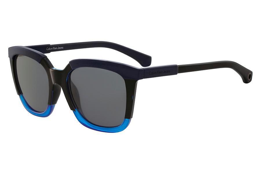 da6673df70297 Óculos de Sol Calvin Klein Jeans CKJ796S 001 54 Preto - Óculos de ...