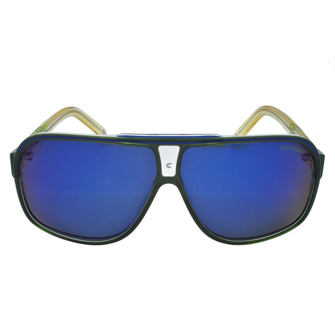 62ba7855e Óculos de Sol Carrera Copa Masculino GRANDPRIX2/W/C - Acetato Verde e Amarelo  Translucido R$ 449,00 à vista. Adicionar à sacola