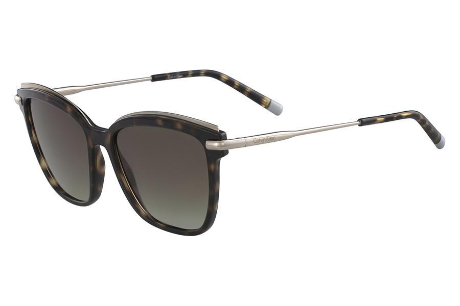 5f75550db1fb7 Óculos de Sol Ck CK1237S 214 55 Tartaruga - Calvin klein Produto não  disponível