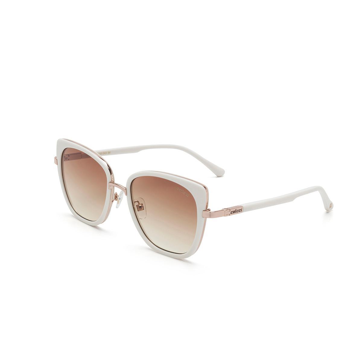 a03f6f3aa Óculos de Sol Colcci C0129 E43 34 Nude Lente Marrom Degradê Tam 52,7 R$  399,00 à vista. Adicionar à sacola