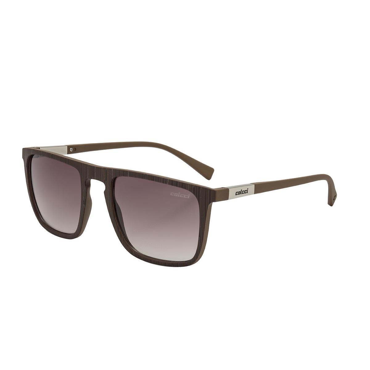 Óculos De Sol Colcci C0130 Martin Marrom Riscado Lente Marrom R  339,00 à  vista. Adicionar à sacola 7e4d295b1b