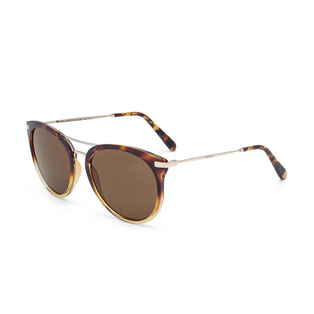 a4a160c04010e Óculos de Sol Colcci LINDA C0095 FB7 02 Tartaruga Degradê Lente Marrom  Degradê Tam 56 R  319,99 à vista. Adicionar à sacola