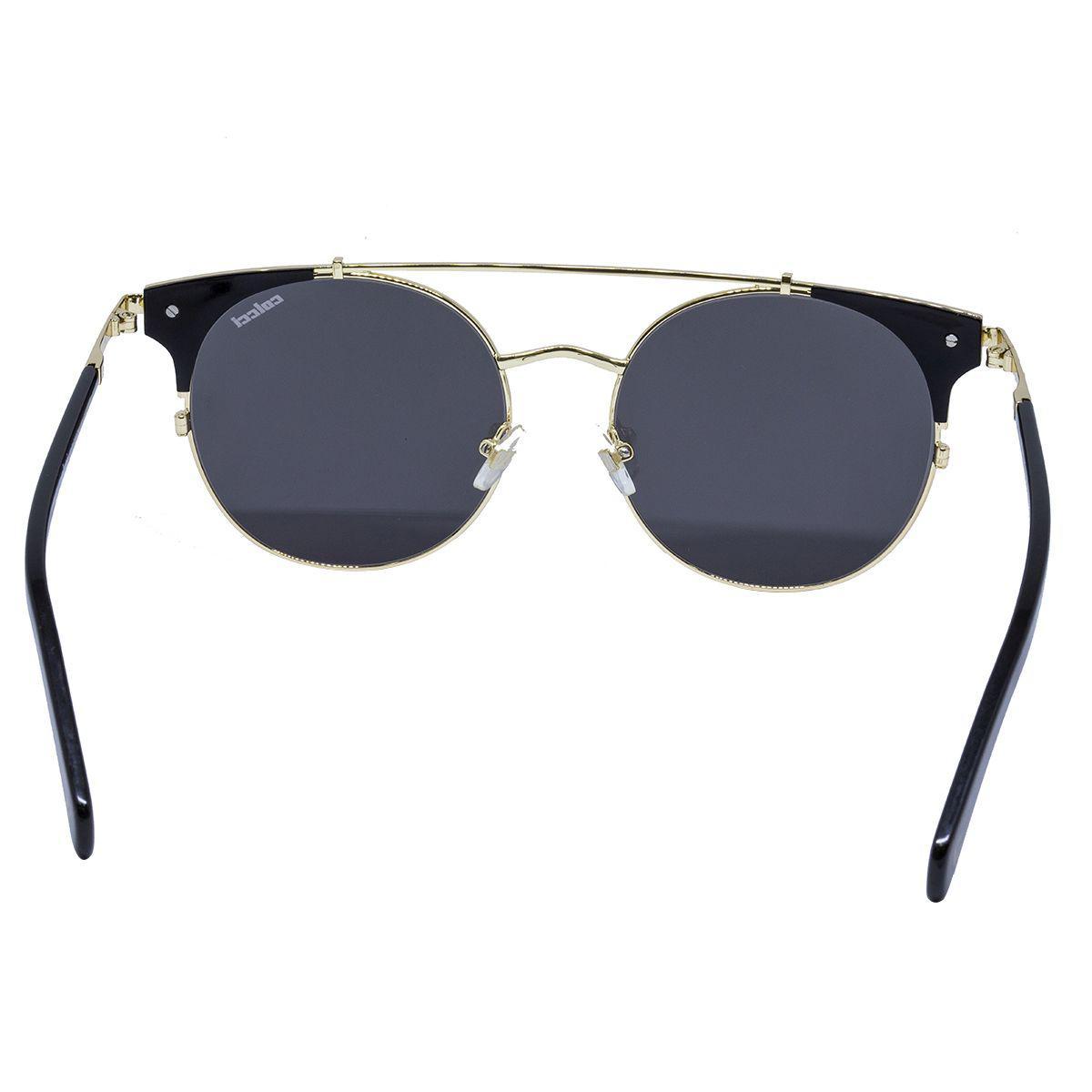 11b31f11b598a Óculos de Sol Colcci Luxury Design C0084 A34 - metal dourado e prata, lente  cinza R  526,00 à vista. Adicionar à sacola
