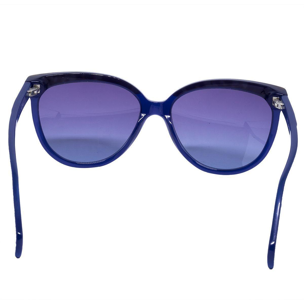 a03926974 Óculos de Sol Diesel Feminino DL0081 - Acetato Roxo e Lente Azul R$ 315,00  à vista. Adicionar à sacola