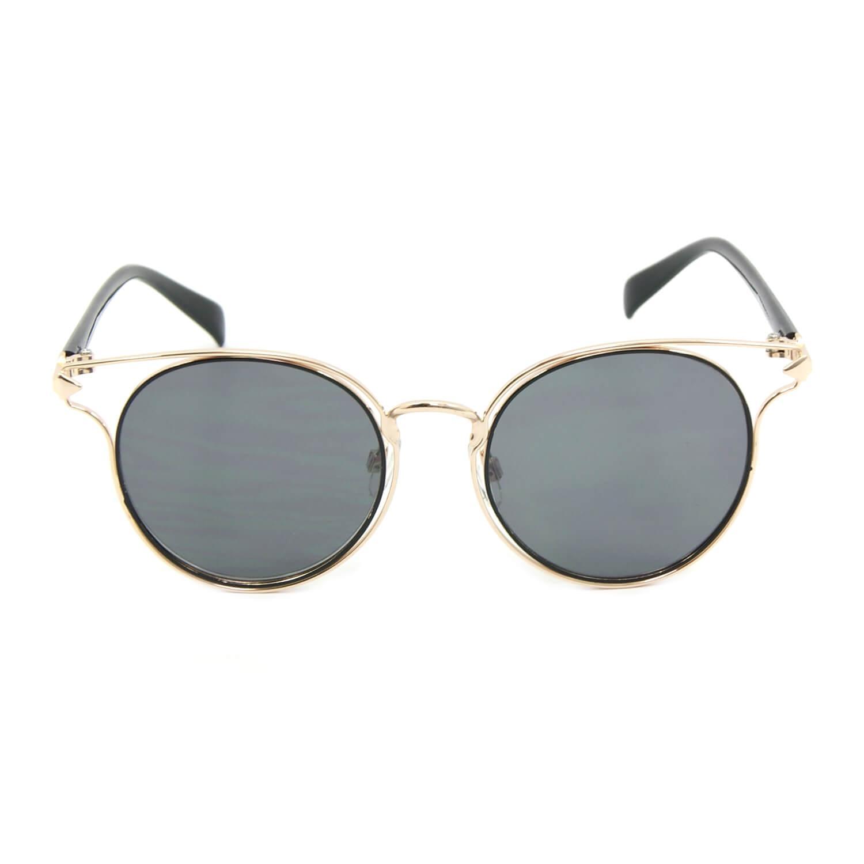 Óculos de Sol Dourado com Lente Preta - Bijoulux R  67,90 à vista.  Adicionar à sacola 876aa722ca