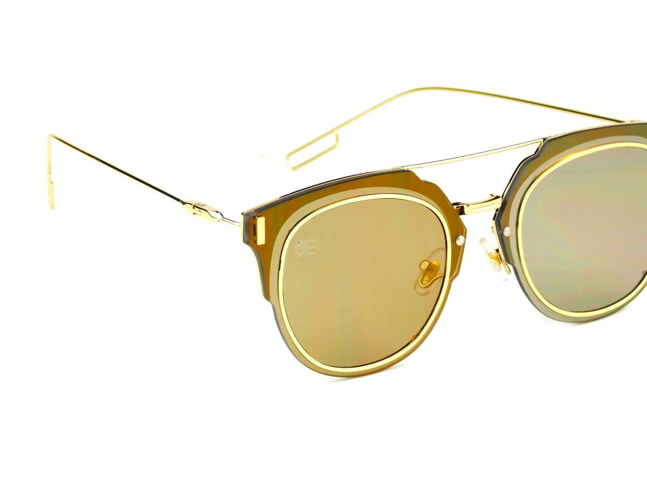 e71699732 Oculos de Sol Drop mE Clubmaster Flat Espelhado Dourado - Drop me acessorios  R$ 299,90 à vista. Adicionar à sacola