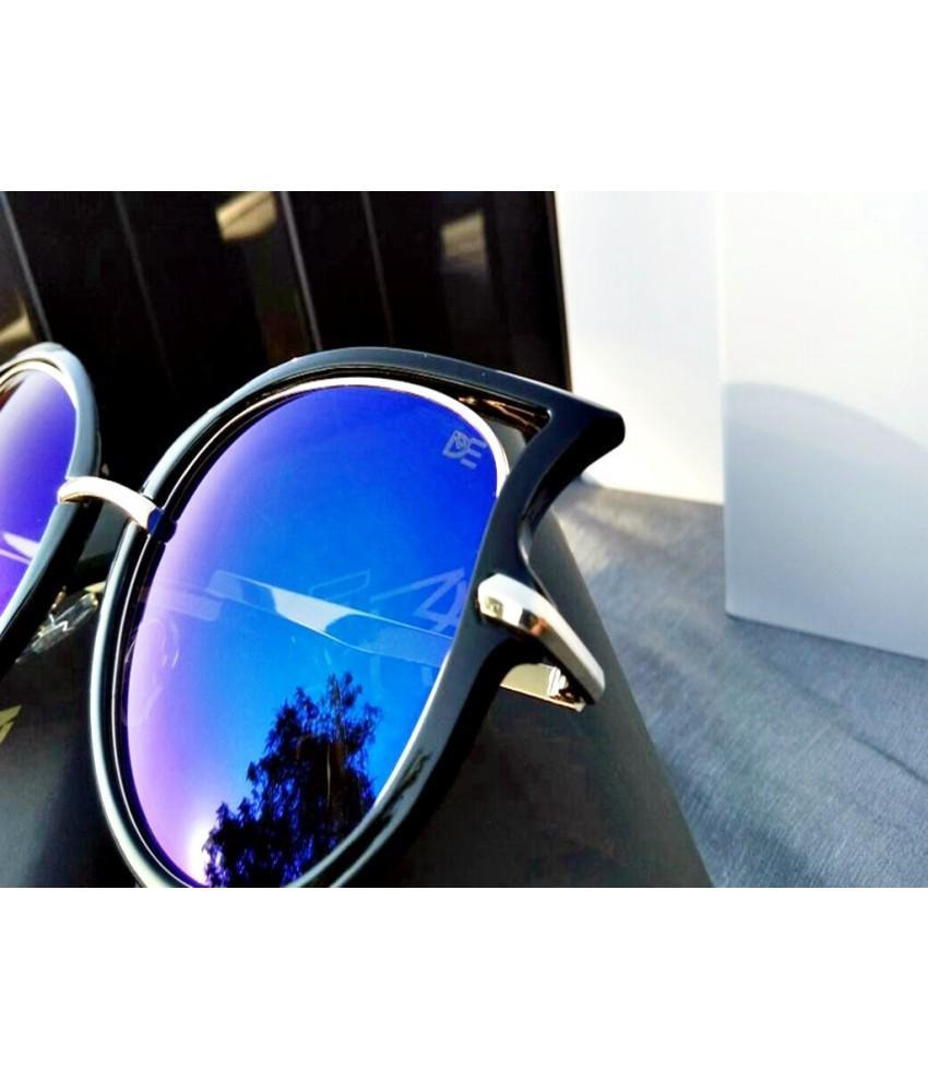 a1a4370cf0a94 Oculos De Sol Drop Me Feminino Gatinho Icone Espelhado Azul - Drop me  acessorios R  259,90 à vista. Adicionar à sacola