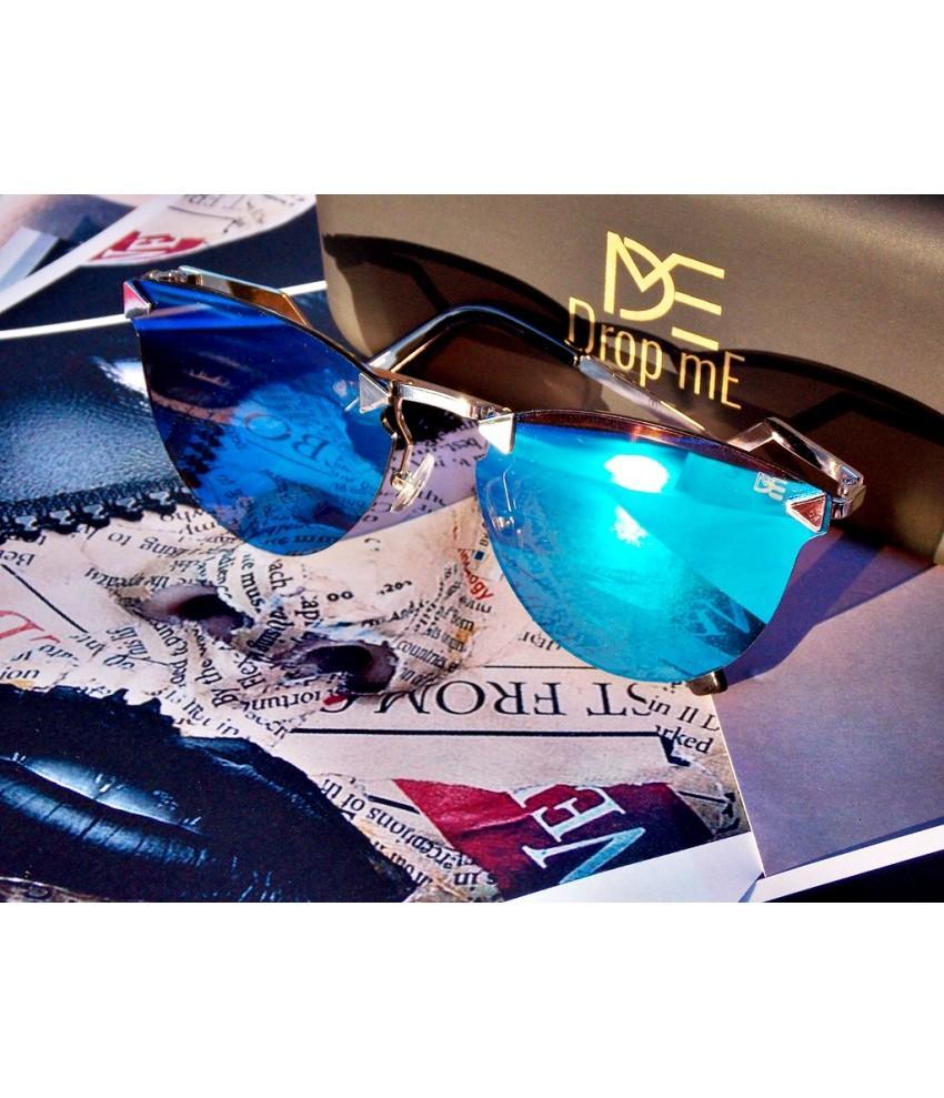 177b40110 Oculos de sol drop me feminino gatinho icone haste flash espelhado azul - Drop  me acessorios R$ 329,90 à vista. Adicionar à sacola