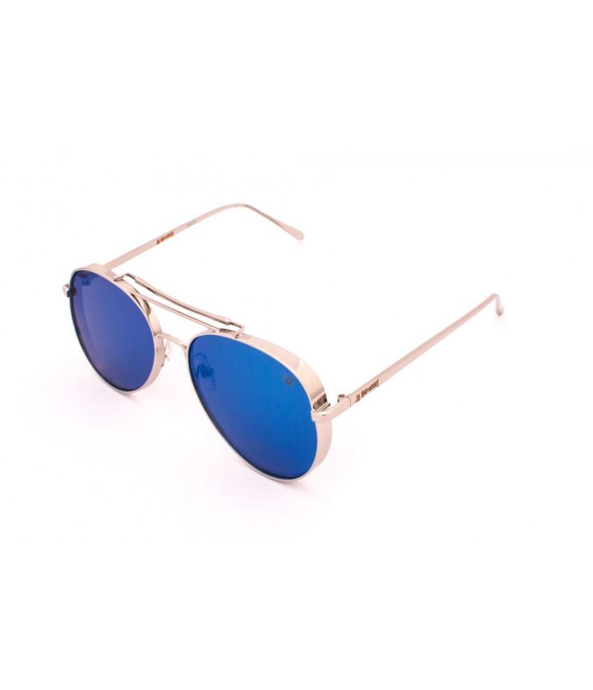 5d760be566d5a Oculos de sol drop me las aviador metal cromo espelhado azul - Drop me  acessorios R  299,90 à vista. Adicionar à sacola