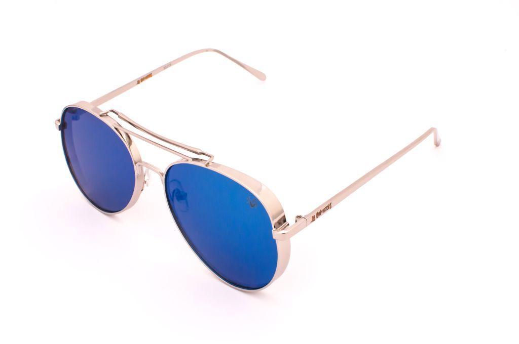 ca7db8a48 Oculos de sol drop me las aviador metal cromo espelhado azul - Drop me  acessorios R$ 299,90 à vista. Adicionar à sacola