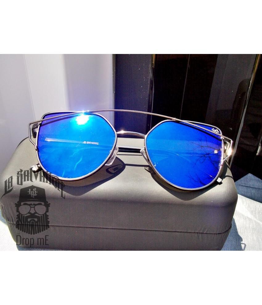 5466ab0e0 Oculos de sol drop me las gatinho arco metal grafite espelhado azul - Drop  me acessorios R$ 289,90 à vista. Adicionar à sacola