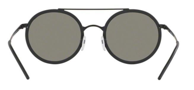 a0ddded1a4c24 Óculos de Sol Emporio Armani EA2041 3001 Preto Fosco Lente Prata Espelhada  Produto não disponível
