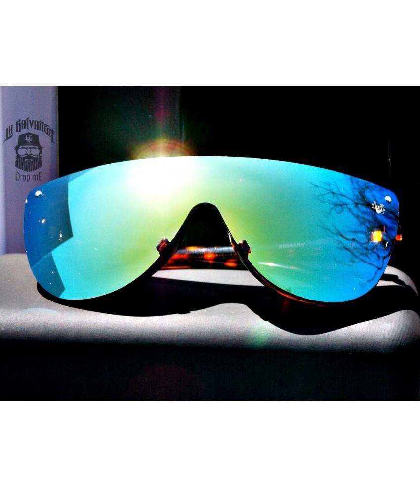 a117d416f7aca Oculos de sol esportivo drop me las lente unica tricolor - Drop me  acessorios R  229