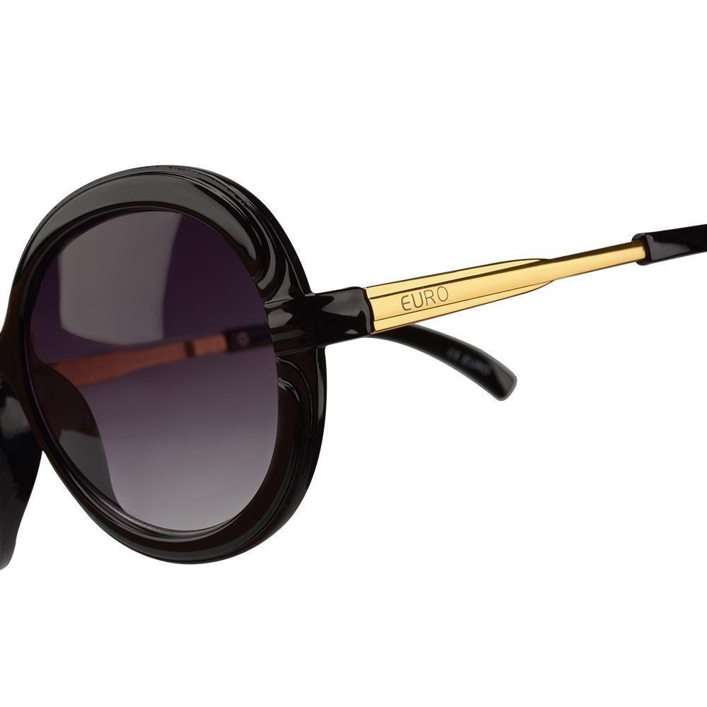 991aa7f7420a8 Oculos de Sol Feminino Euro OC080EU 8P - Marrom - Acessórios de moda ...