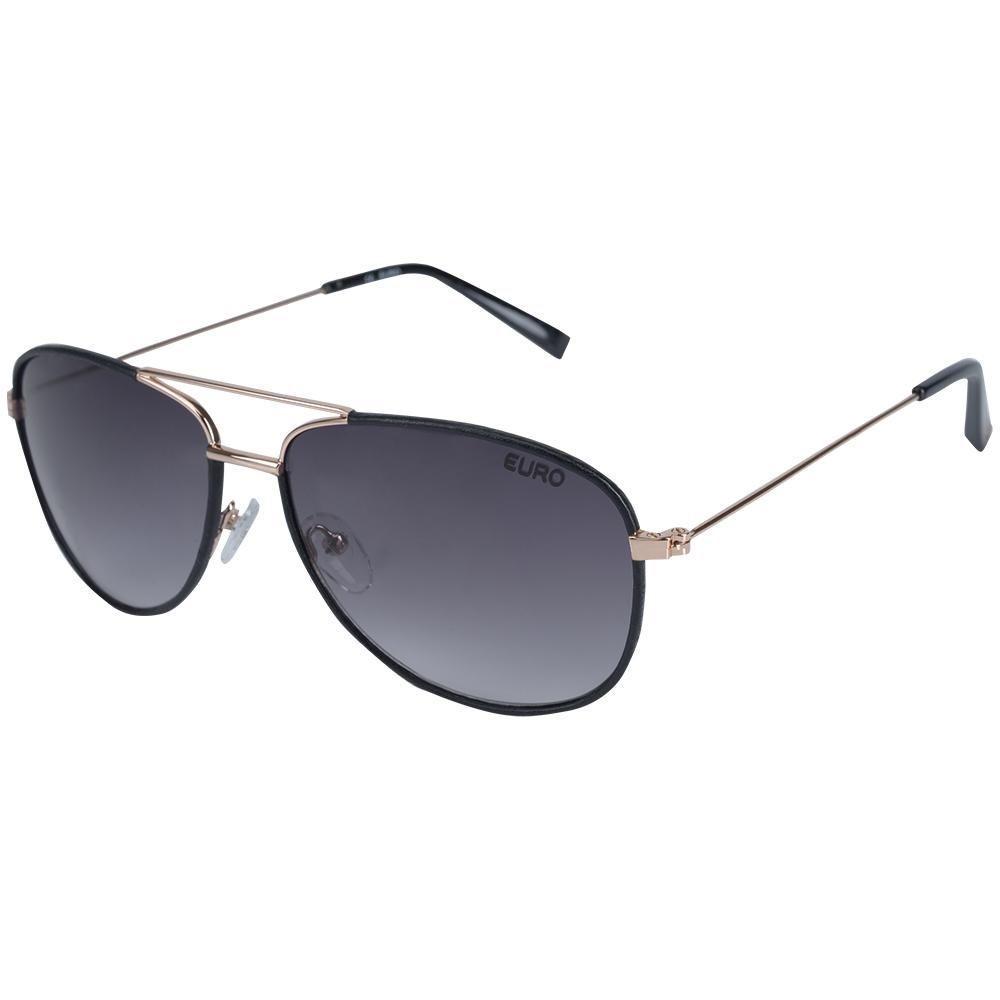 ffc59019375b5 Oculos de Sol Feminino Euro OC106EU 4P - Preto - EURO - Óculos de ...