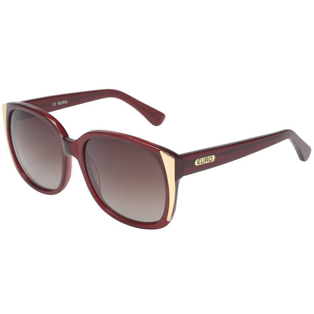 25e89ba414b8d Oculos de Sol Feminino Euro OC127EU 8R - Vinho Produto não disponível