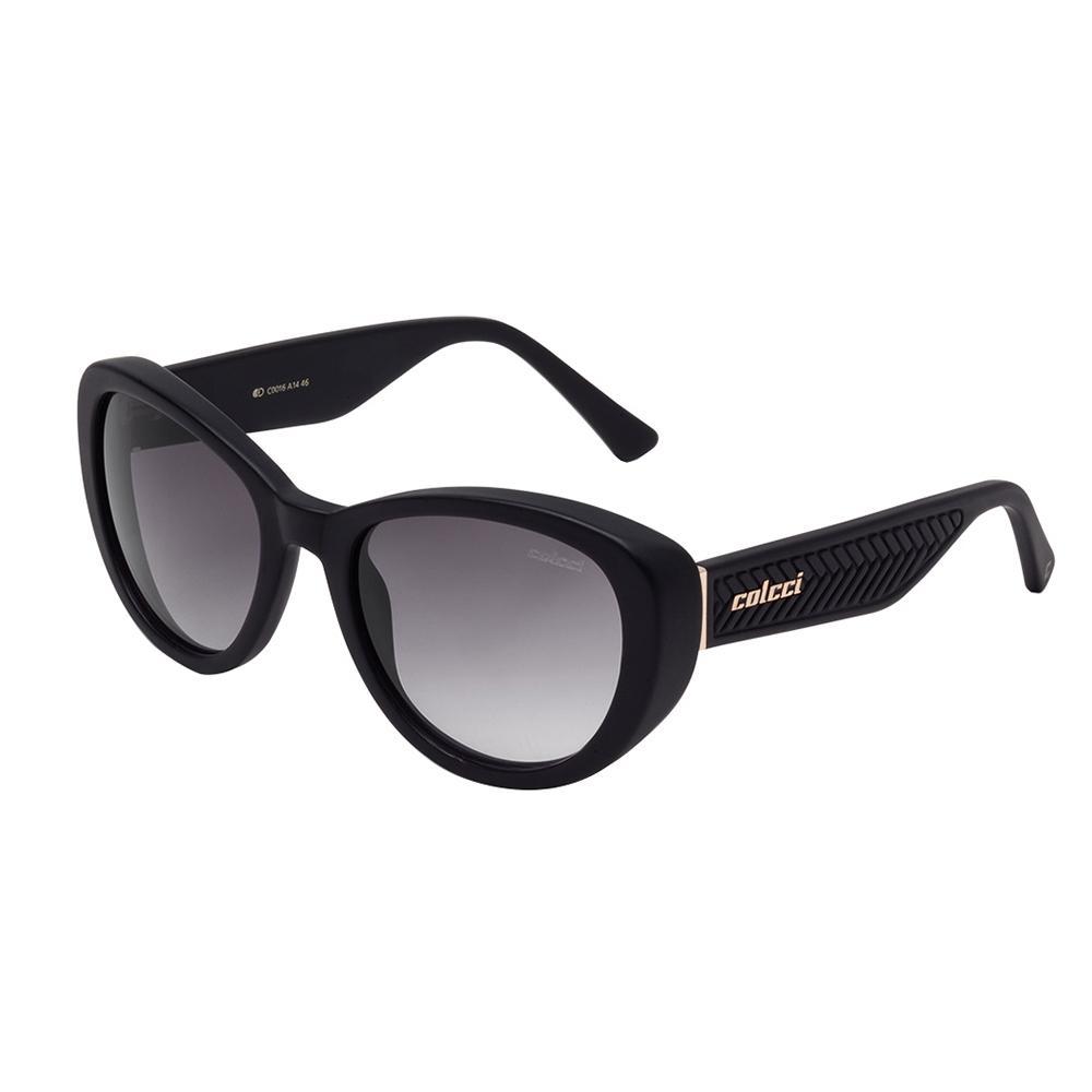 56fa8b8656a20 Óculos De Sol Feminino Preto Fosco C0016 Colcci Produto não disponível