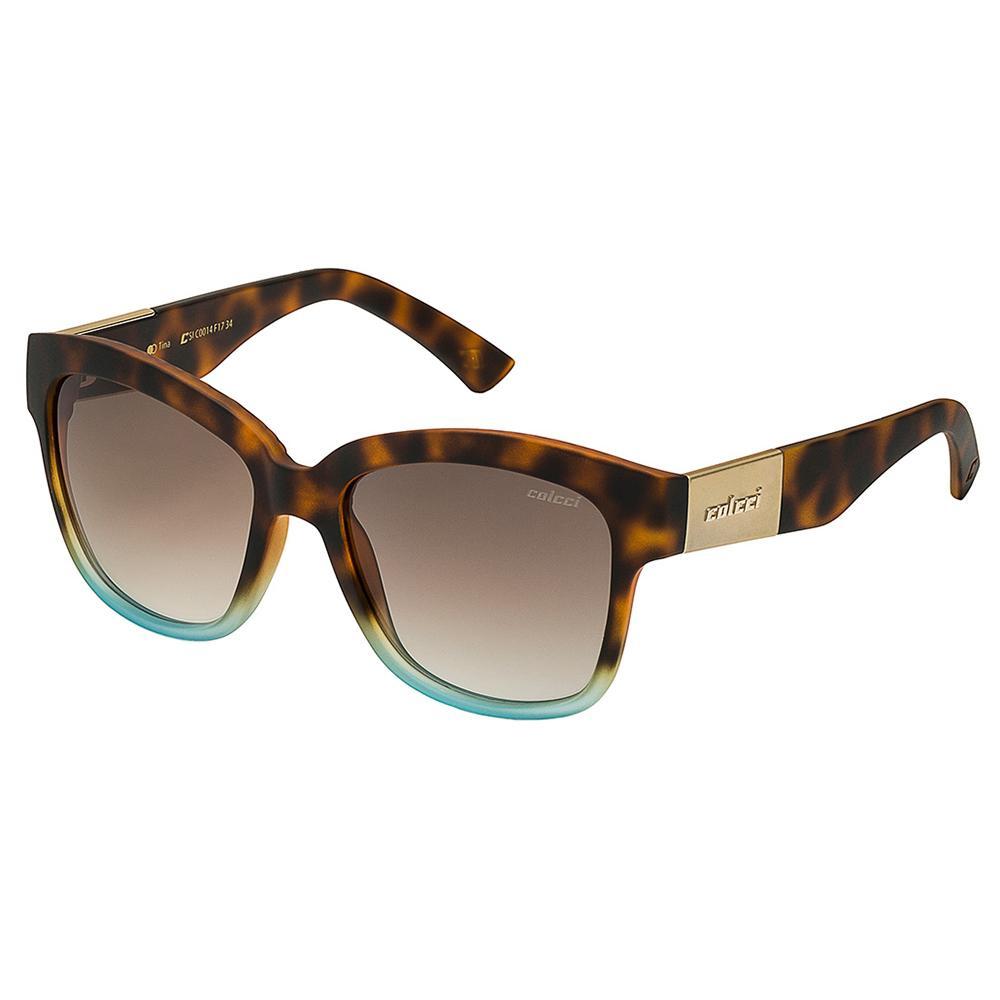 Óculos De Sol Feminino Tina Marrom Demi Com Degrade Azul Colcci Produto não  disponível 8d792138c2