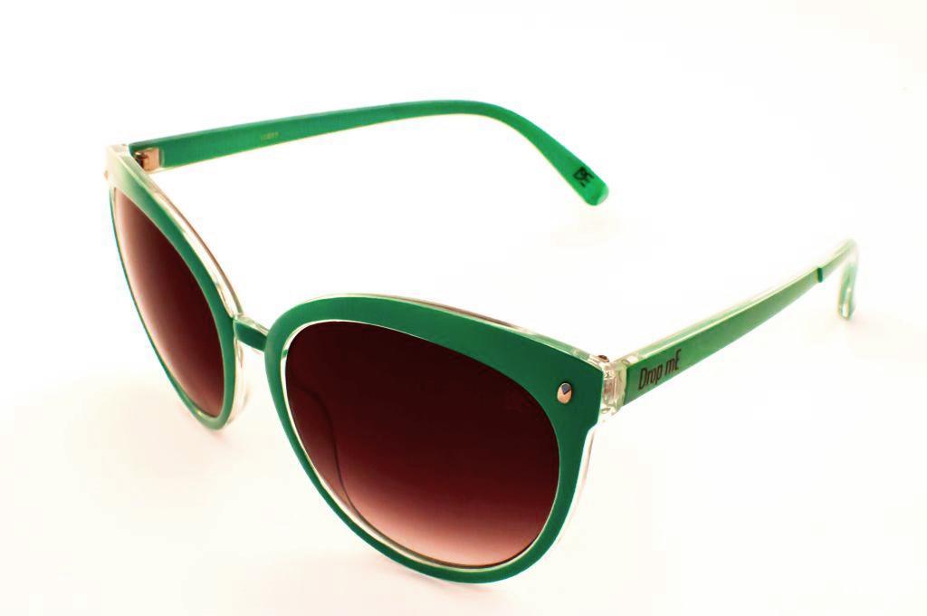 78168308f875e Óculos de Sol Gatinho Drop Me Feminino Icone Turquesa - Drop me acessorios  R  309,90 à vista. Adicionar à sacola